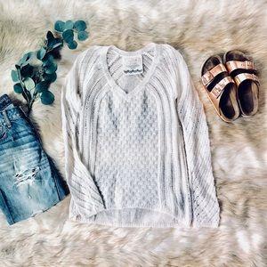 🌿 Soft Knit V-Neck Sweater 🌿